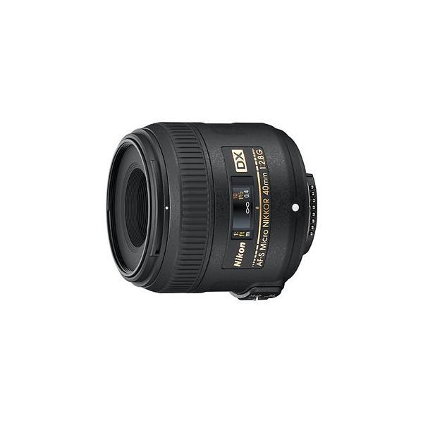 ニコン AF-S DX Micro NIKKOR 40mm f/ 2.8G ※DXフォーマット用レンズ(24mm×16mm) AFSDXMC40/ 2.8G 返品種別A