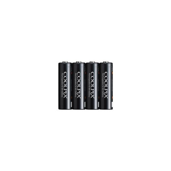 ニコン Ni-MHリチャージャブルバッテリー「EN-MH2-B4」(4本セット) EN-MH2-B4 返品種別A