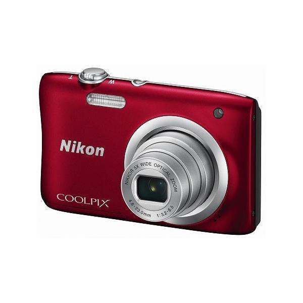 ニコン デジタルカメラ「COOLPIX A100」(レッド) A100RD 返品種別A