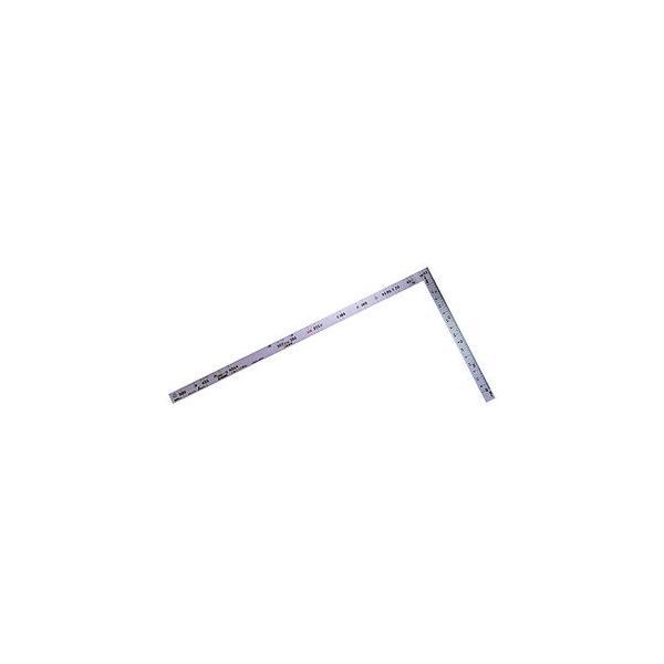 シンワ測定 曲尺 ツーバイフォー 2×4/ 1尺 5寸 併用目盛19mm巾(シルバー) 10056 返品種別A