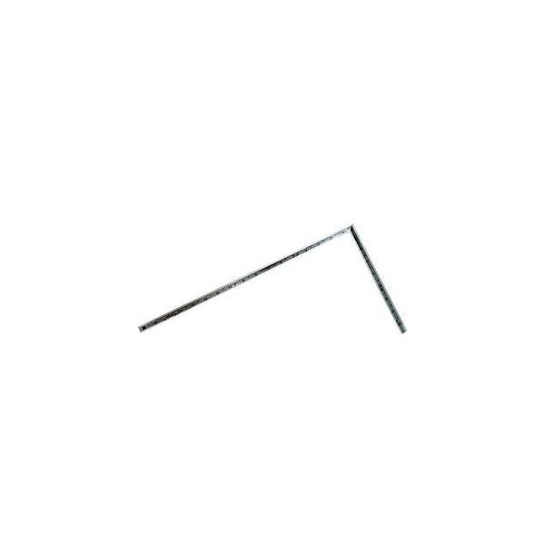 シンワ測定 曲尺 高級角厚 1尺 6寸裏面角目 匠甚五郎(シルバー) 10855 返品種別A