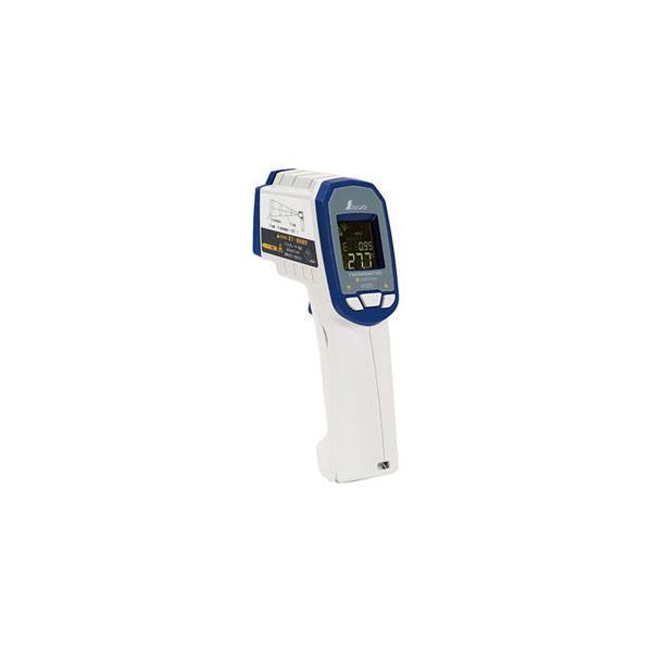 シンワ測定 放射温度計 G 耐衝撃デュアルレーザーポイント機能付 放射率可変タイプ(体温測定不可) 73063 返品種別A
