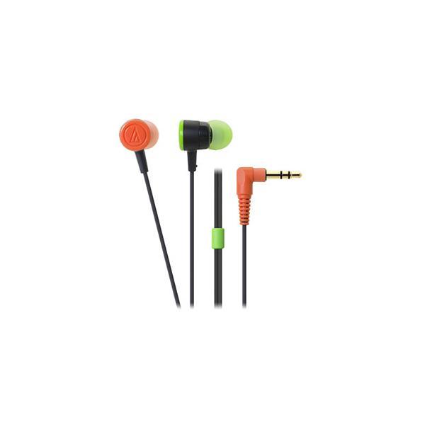 オーディオテクニカ ダイナミック密閉型カナルイヤホン(ブラッククレイジー) audio-technica dip(ディップ) ATH-CKL220-BCZ 返品種別A