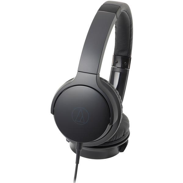 オーディオテクニカ ポータブルヘッドホン高音質タイプ ATH-AR3 BK ブラックの画像