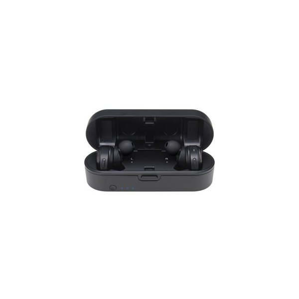 オーディオテクニカ 完全ワイヤレス Bluetoothイヤホン(ブラック) audio-technica ATH-CKR7TW-BK 返品種別A