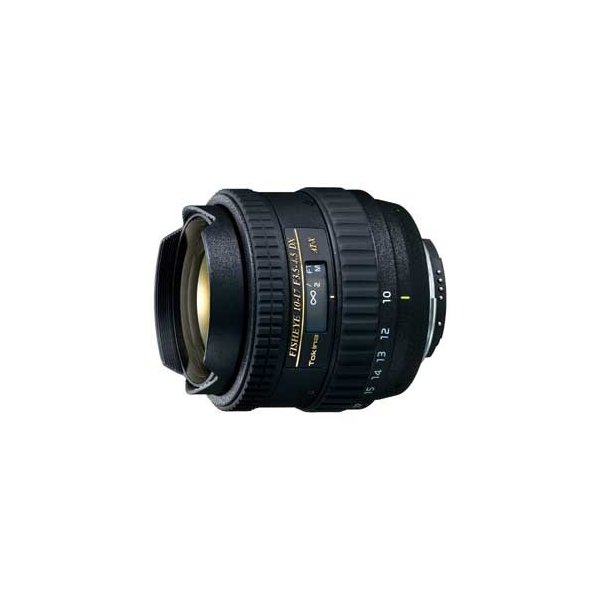 トキナー AT-X 107 DX Fisheye 10-17mm F3.5-4.5(IF) ※キャノンEF-Sマウント用レンズ(APS-Cサイズ用) AT-X 107 DX CAF 返品種別A