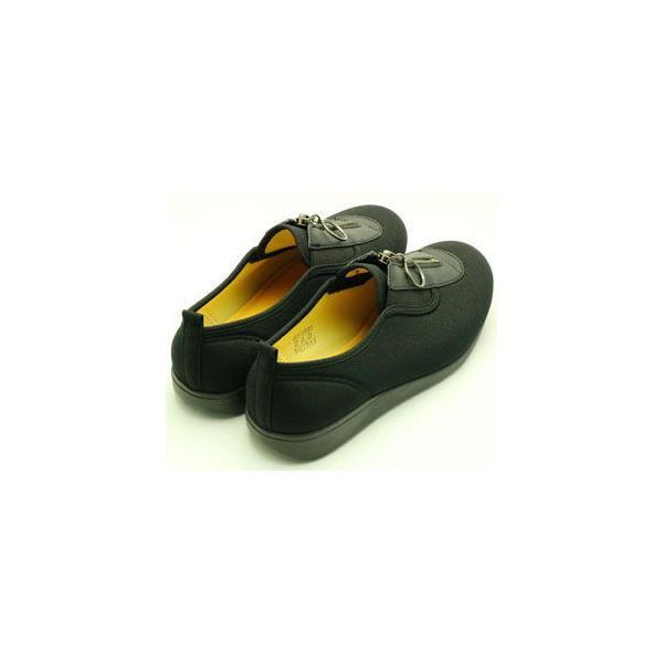 アサヒシューズ 婦人 ウォーキングシューズ(ブラック・25.0cm) 快歩主義 KS23313 L117ブラツク25.0 返品種別A