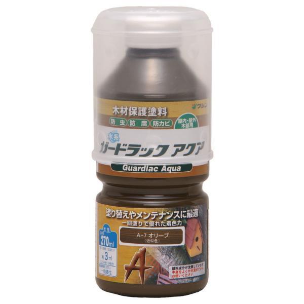 和信ペイント ガードラック アクア 270ml(オリーブ) Washin Paint #800076(ワシン) 返品種別B