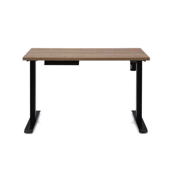 アイリスオーヤマ 電動昇降テーブル(ブラック) IRIS DST-1200ブラツク 返品種別A