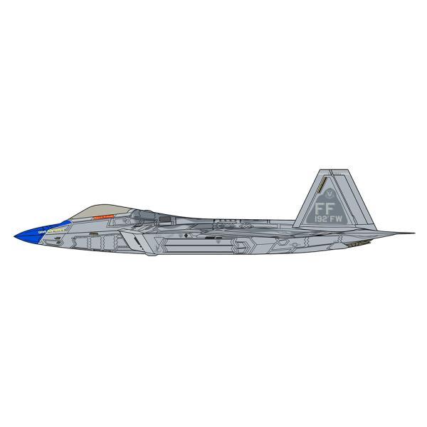 1/48 F-22 ラプター ブルーノーズ ディテールアップバージョン SP493