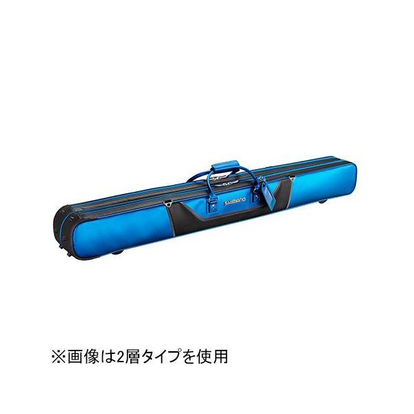シマノ へらロッドケースXT 130cm 3層(サファイアブルー) SHIMANO RC-012Q 531285 返品種別A