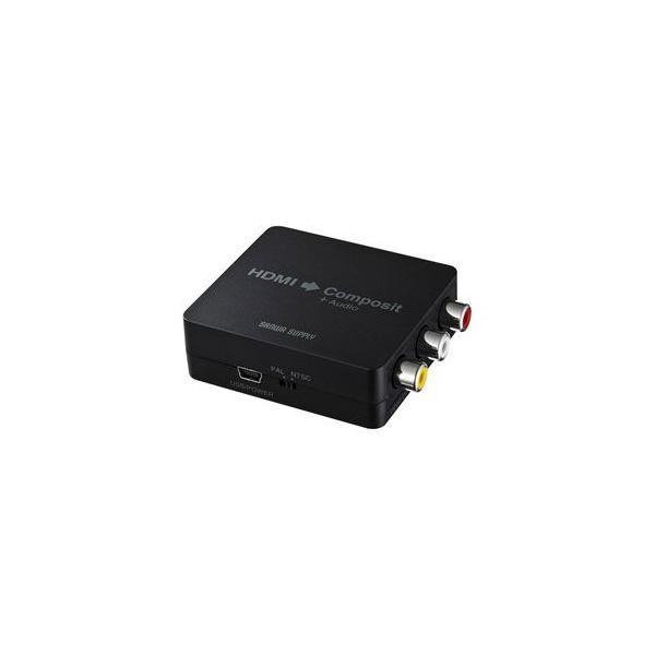 サンワサプライ HDMI信号コンポジット変換コンバーター VGA-CVHD3 返品種別A