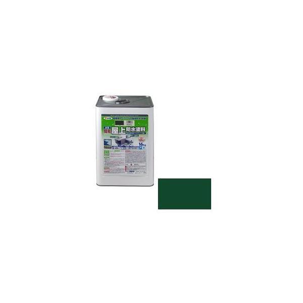 アサヒペン 水性簡易屋上防水塗料 16kg(グリーン) カンイオクジヨウボウスイ16KGGR 返品種別B