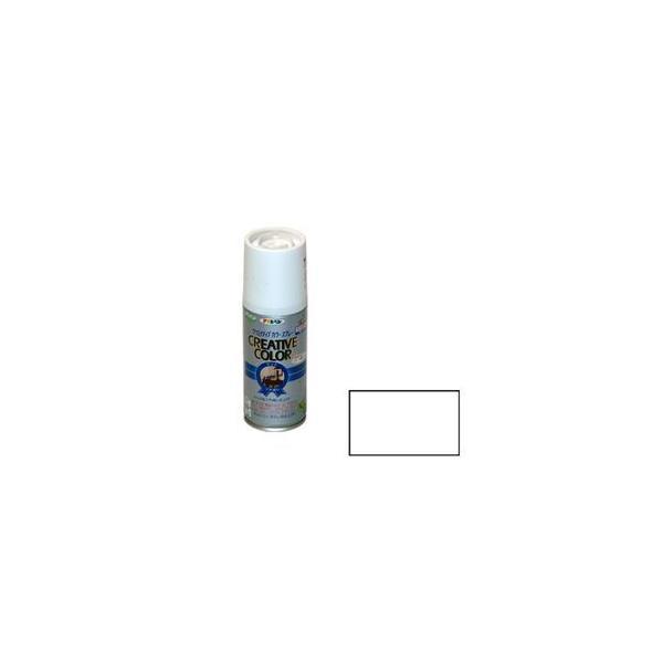 アサヒペン クリエイティブカラースプレー 100ml(マットホワイト) クリエイテイブ100ML MWH 返品種別B