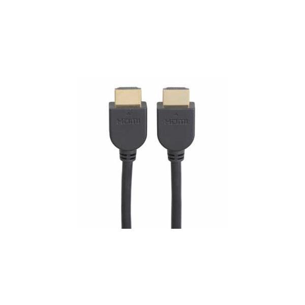 オーム HDMIケーブル(3.0m・ソフトタイプ)Ver1.4対応 OHM VIS-C30HD-K 返品種別A