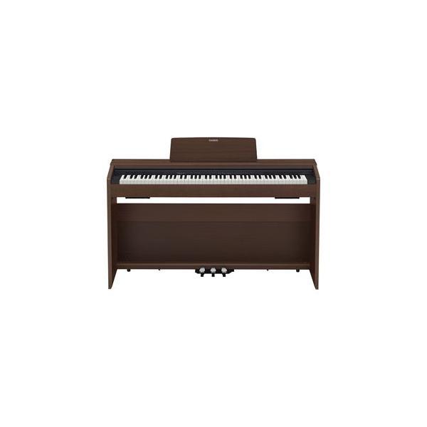 カシオ 電子ピアノ(オークウッド調) CASIO Privia(プリヴィア) PX-870BN 返品種別A