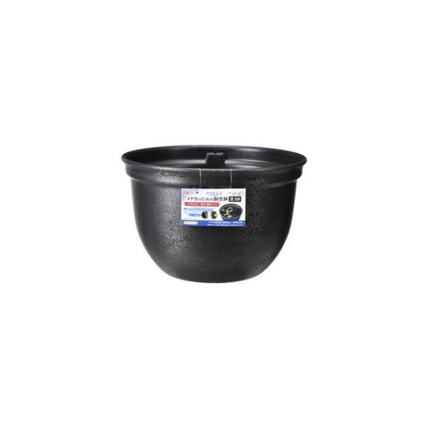 メダカ元気メダカのための飼育鉢黒320ジェックスGEX返品種別A