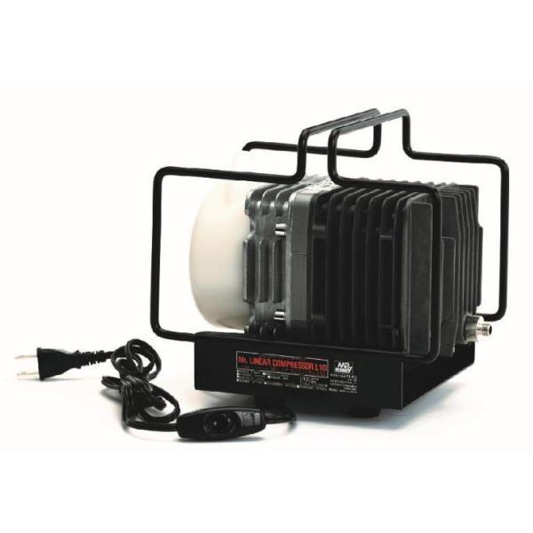 GSIクレオス Mr.リニアコンプレッサーL10(PS252)エアブラシ用コンプレッサー 返品種別B