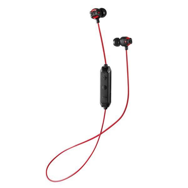JVC Bluetooth対応ダイナミック型カナルイヤホン(レッド) JVC XX(XTREAM XPLOSIVES)シリーズ HA-FX101BTR 返品種別A