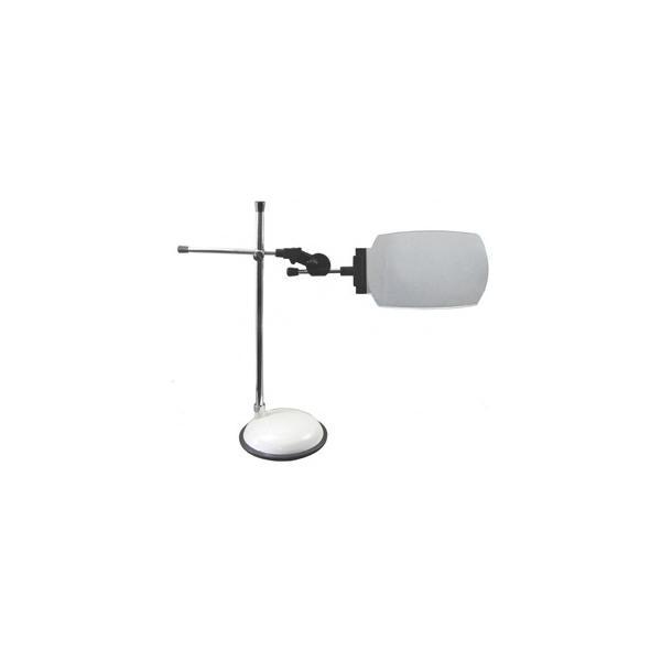 ミザール LEDライト付フレキシブルスタンドルーペ「PL-213D」(倍率1.6倍) MIZAR スタンドルーペ PL-213D PL-213D 返品種別A