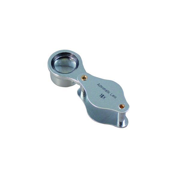 ミザール メタルルーペ「RA-1510P」(倍率10倍) MIZAR 検査用ルーペ RA-1510P RA-1510P 返品種別A