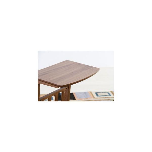 東谷 トムテ ソファサイドテーブル(ウォルナット) Tomte TAC-239WAL 返品種別A|joshin|03