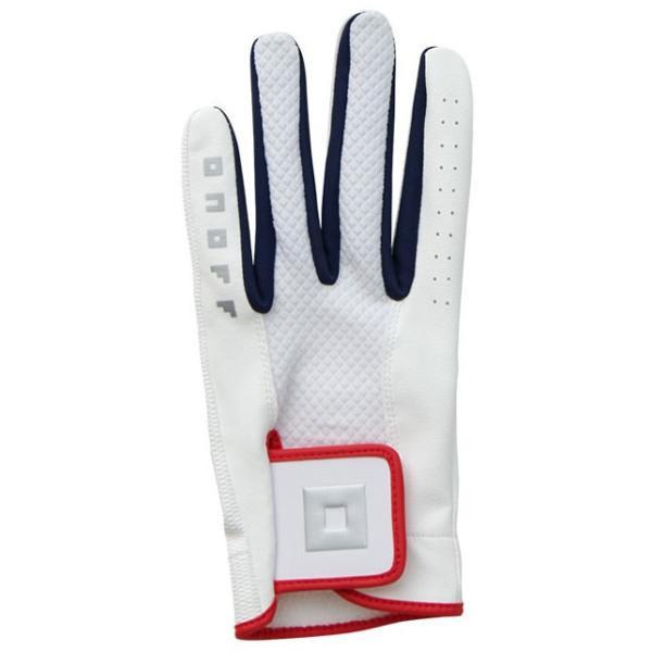 オノフ ゴルフグローブ 左手用(ホワイト・22cm) ONOFF Glove OG0620 OG062012 返品種別A