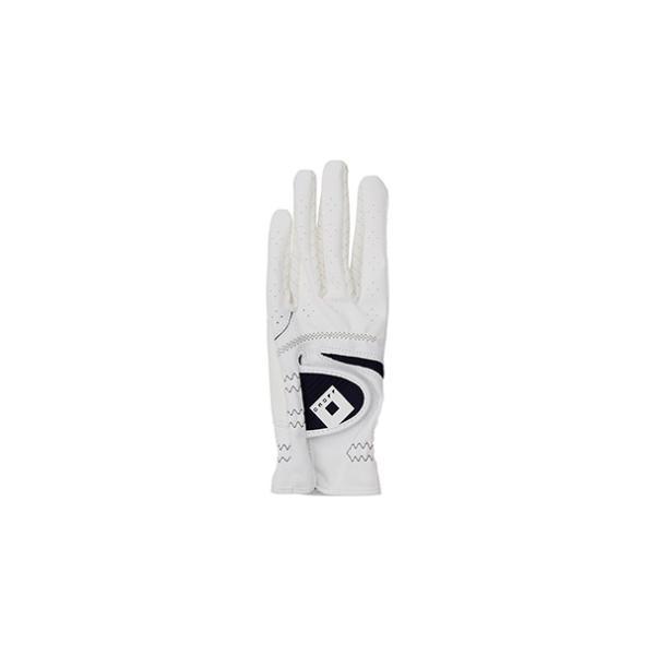 オノフ レディース ゴルフグローブ 左手用(ホワイト/ ネイビー・22cm) ONOFF Glove OG7221 OG7221-04NV22 返品種別A