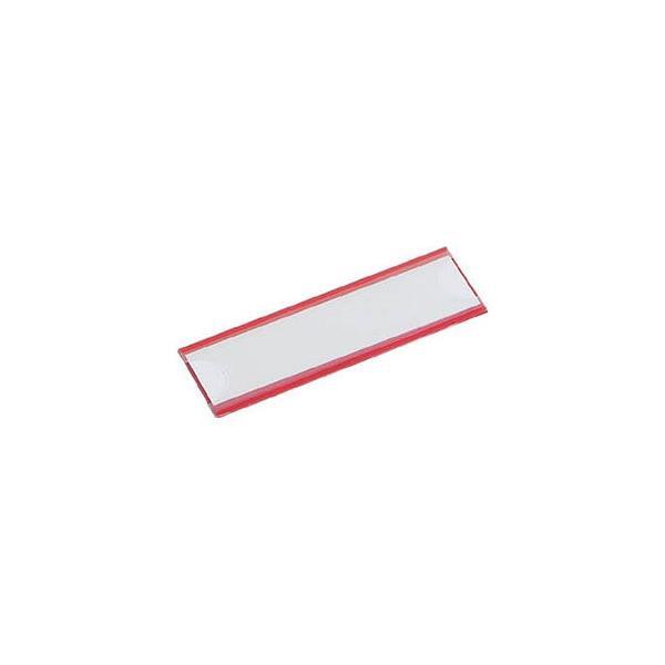 トラスコ中山 マグネット式見出しプレート25×110赤10枚入 MGP25X110R 返品種別B