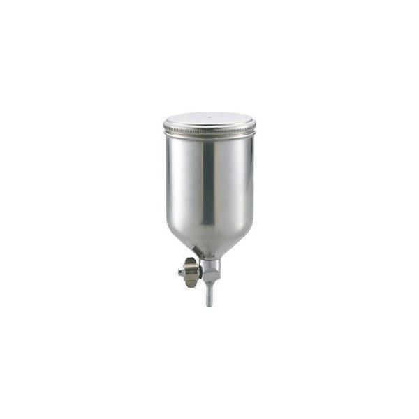 トラスコ中山 ステンレス塗料カップ 重力式用 容量0.4L 脚付 TGC04C 返品種別B