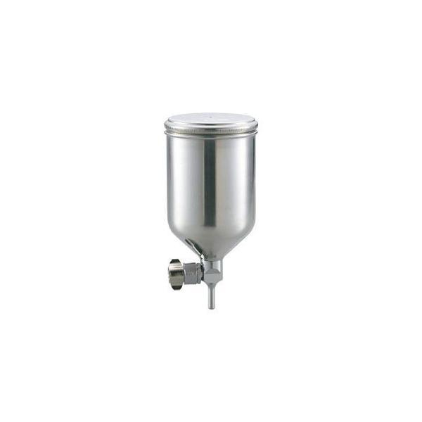 トラスコ中山 フリーアングル塗料カップ 重力式用 容量0.4L 脚付 TGC04FA 返品種別B
