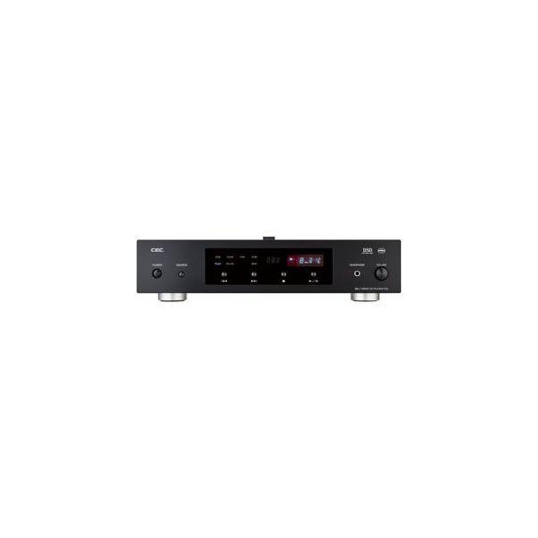 CEC USB入力付CD専用プレーヤー(ブラック)(ベルトドライブ) CD5-BK 返品種別A