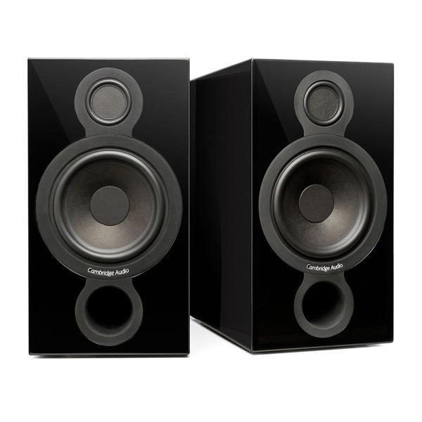 ケンブリッジオーディオ 2ウェイ・ブックシェルフスピーカー(ブラック/ 2本1組) CAMBRIDGE AUDIO Aeromax 2 BLK 返品種別A