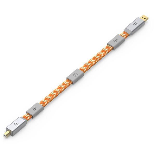 アイファイ・オーディオ オーディオグレードUSBケーブル(1.0m)(USB3.0 A端子 ⇔ USB2.0 B端子) iFi-Audio MERCURY3.0-1.0M-2.0 返品種別A