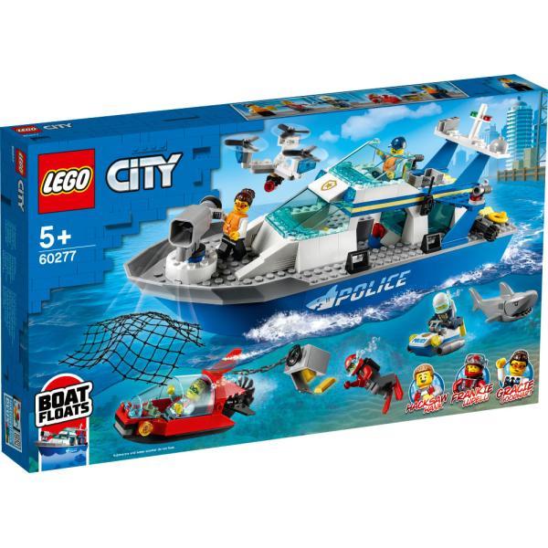 レゴジャパンレゴ(R)シティポリスパトロールボート(60277)返品種別B