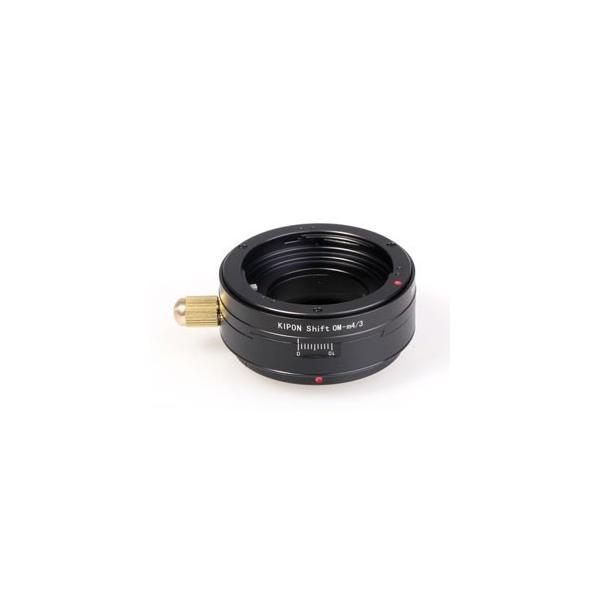 KIPON マウントアダプター SHIFT OM-M4/ 3 (ボディ側:マイクロフォーサーズ/ レンズ側:オリンパスOM) SHIFT OM-M4/ 3 KIPON 返品種別A