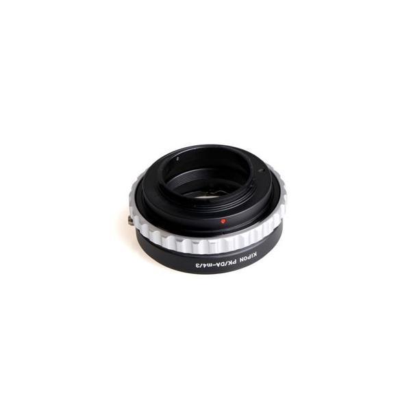 KIPON マウントアダプター PK/ DA-M4/ 3 (ボディ側:マイクロフォーサーズ/ レンズ側:ペンタックスK(DAシリーズ対応)) PK/ DA-M4/ 3 KIPON 返品種別A