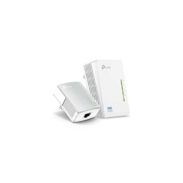 TP-Link 300Mbps AV600 PLCアダプター Wi-Fiエクステンダーキット TPLINK ティーピーリンク TL-WPA4220 KIT 返品種別A|joshin
