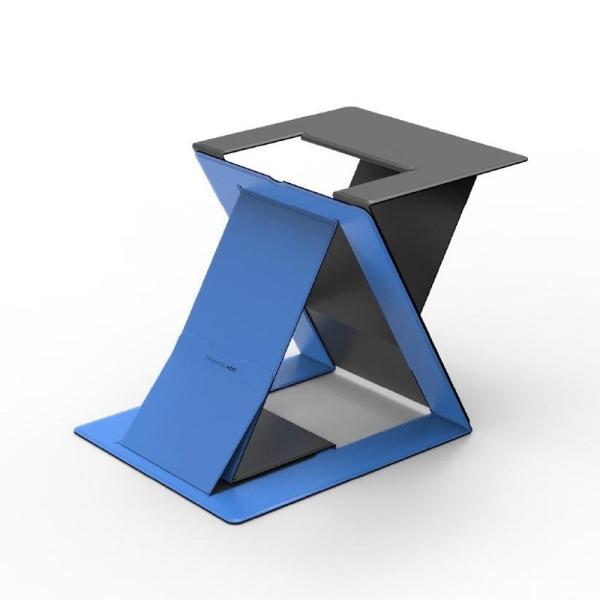 Moft スタンディングデスク ノートPCスタンド(ブルー) 「MOFT Z」 MS015-1-GYBU-01 返品種別A