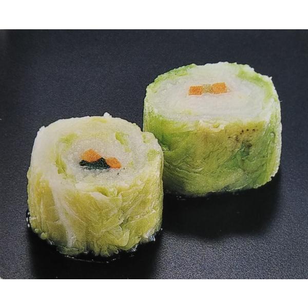 送料無料 白菜ロールカット 500g 袋中15個 20袋入 1個あたり約10円 鍋用 φ4〜4.5cmH3cm