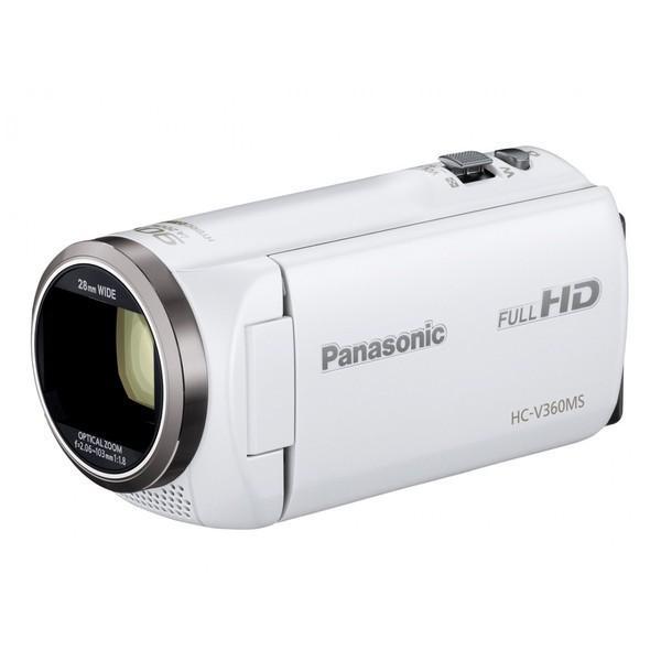 パナソニック 16GBメモリー内蔵フルハイビジョンビデオカメラ ホワイト