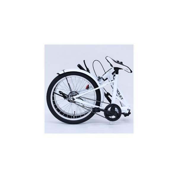 シボレー 折りたたみ自転車 20インチ CHEVROLET FDB20E|jowaoutlet|02