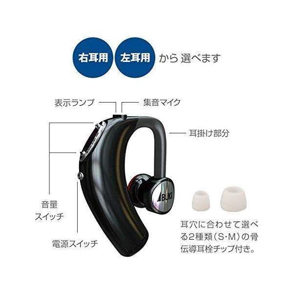 骨伝導 耳かけ式集音器(右耳用)ボン・ボイス(右耳用)伊吹電子|jowaoutlet|02