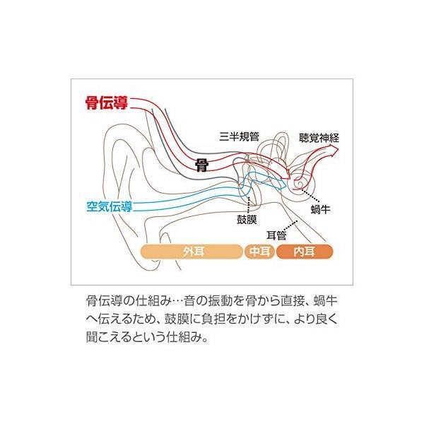 骨伝導 耳かけ式集音器(右耳用)ボン・ボイス(右耳用)伊吹電子|jowaoutlet|03