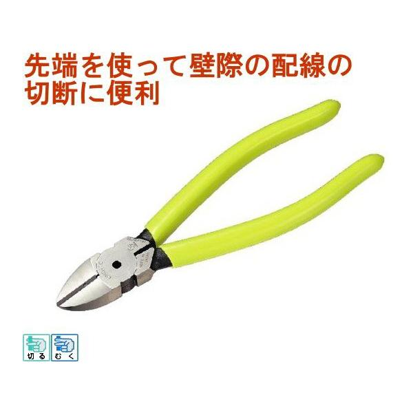 キングTTCハードシリーズ 強力ニッパー160mm CN-160 DIY 工具 作業工具 作業用品 切断 ネコポス可能