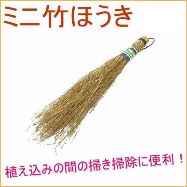 ミニ竹ほうき ほうき 箒 掃除 そうじ 清掃 掃除用具 掃き掃除 竹 竹ほうき ループ付 エコ
