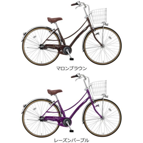 完売 通学自転車 27インチ ミヤタ シェリーベルト DSH73LB7 2017年 ...