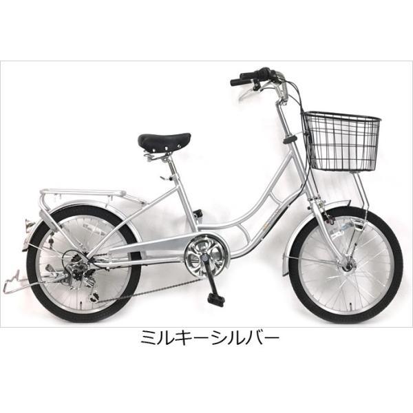 (限定カラー登場) 20インチママチャリ 20ロングモンタナ6Sオート 20インチ 6段変速付 後ろ子供乗せ取付可能 自転車|joy|04