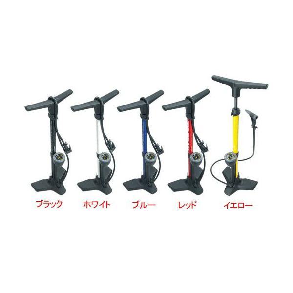 自転車 ポンプ 空気圧ゲージ付 TOPAEK トピーク フロアーポンプ ジョーブロー マックスHP2 PPF05900-04 M|joy|02