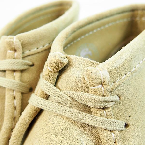 CLARKS  WALLABEE BOOT  MAPLE SUEDE  26133283  クラークス  ワラビー ブーツ  メープル スエード  メンズ  【並行輸入品】|joyfoot|05